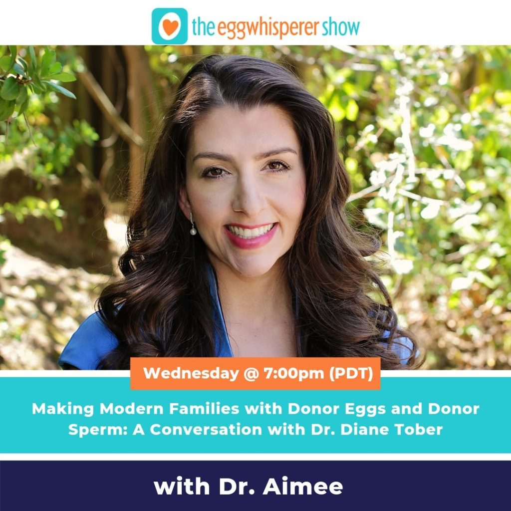 Making Modern Families with Donor Eggs and Donor Sperm: A Conversation with Dr. Diane Tober