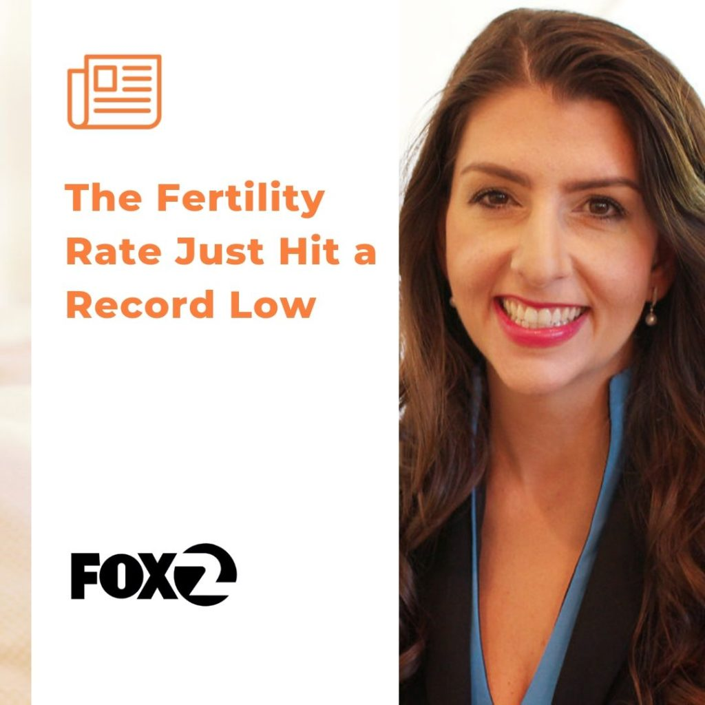 Fertility Rates Hit Record Low