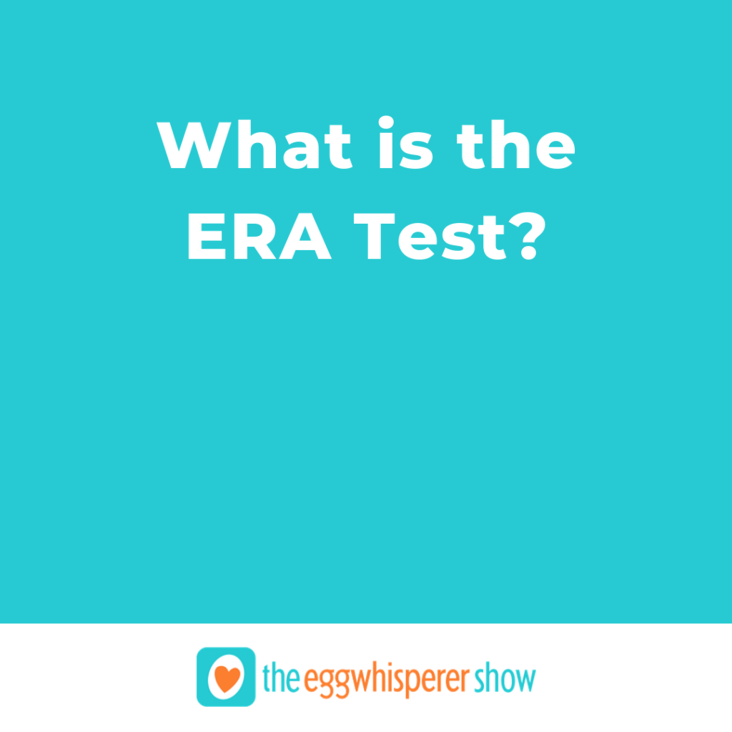 What is the ERA test?