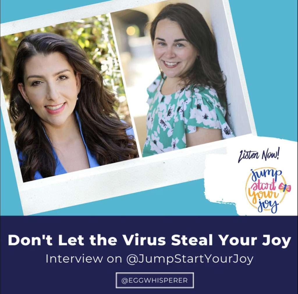 Don't Let the Virus Steal Your Joy on Jump Start Your Joy